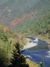 Klamath River above Weitchpec