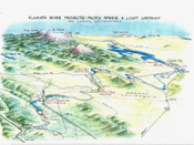 Klamath Hydroelectric Project map
